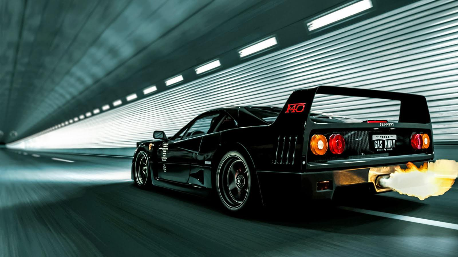 An F40 Restored By Texans