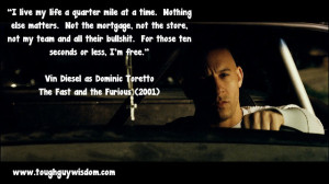 i live my life a quarter mile at a time meaning - photo #11