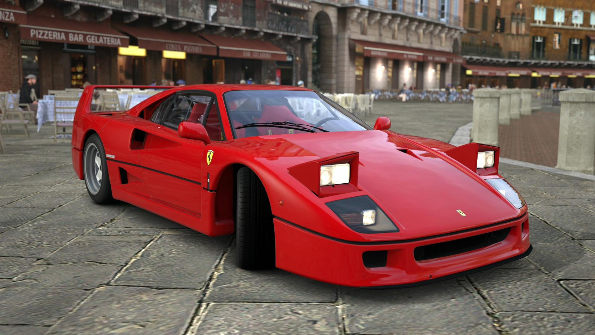 Y U Do Dis Ferrari F40 with pop u...
