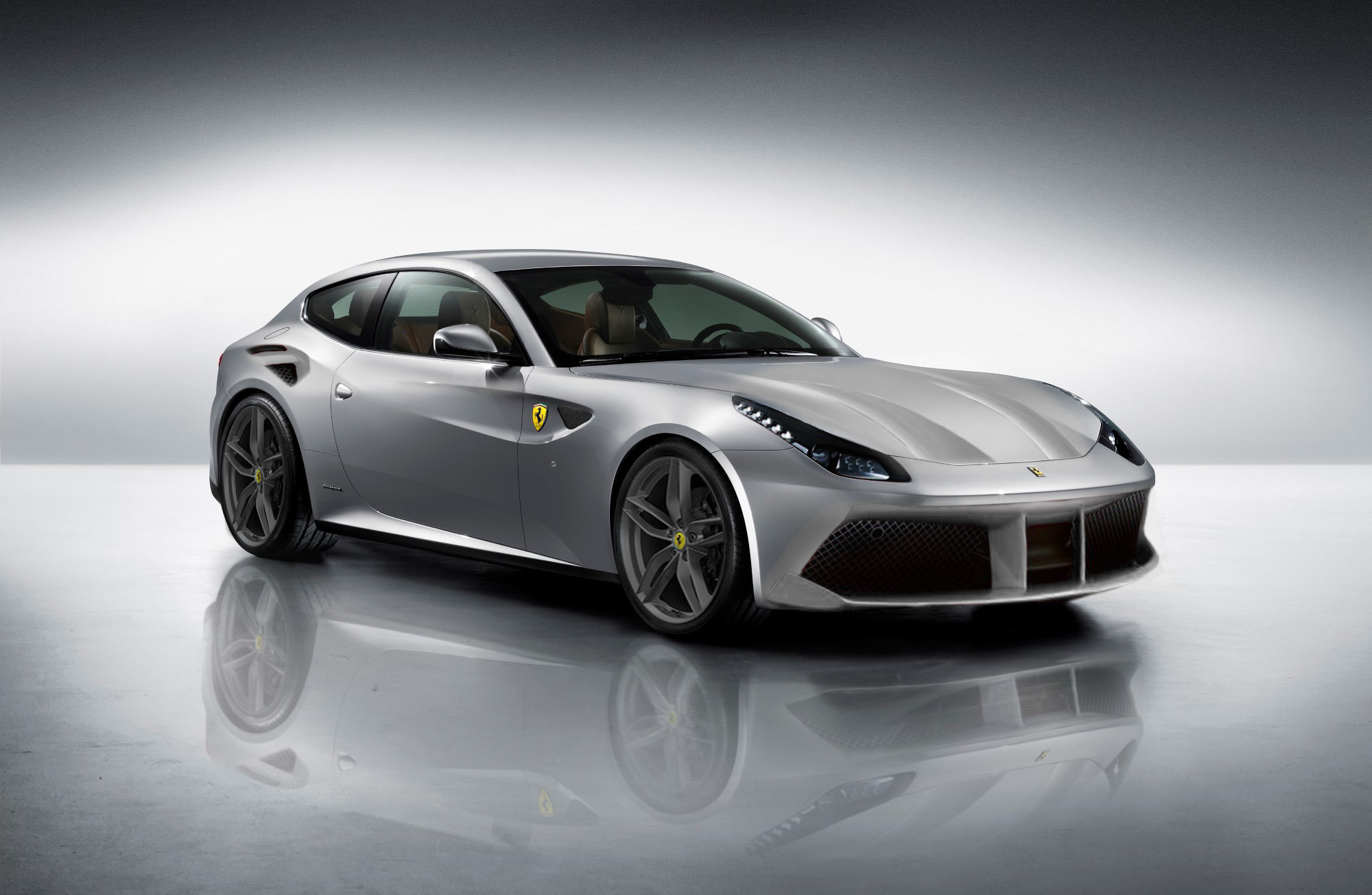 2016 ferrari ff rendering by me d. Black Bedroom Furniture Sets. Home Design Ideas