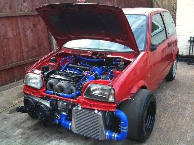 fiat cinquecento ford zetec 16v turbo 2 1l engine 438hp. Black Bedroom Furniture Sets. Home Design Ideas