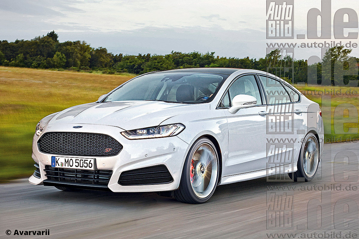 This is how a Ford Mondeo ST could look like. Do you guys ...