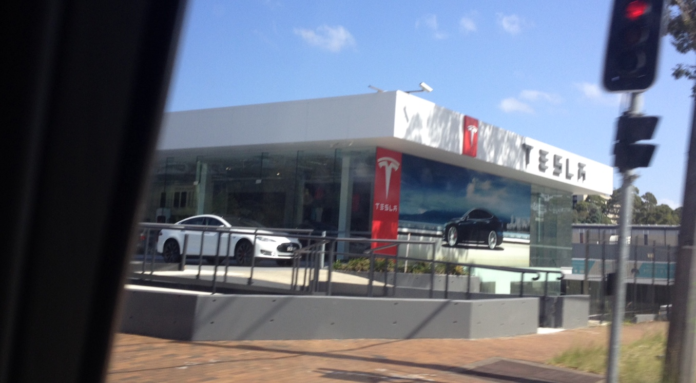 The New Tesla Dealership In Sydney Is Quite Shocking Eh