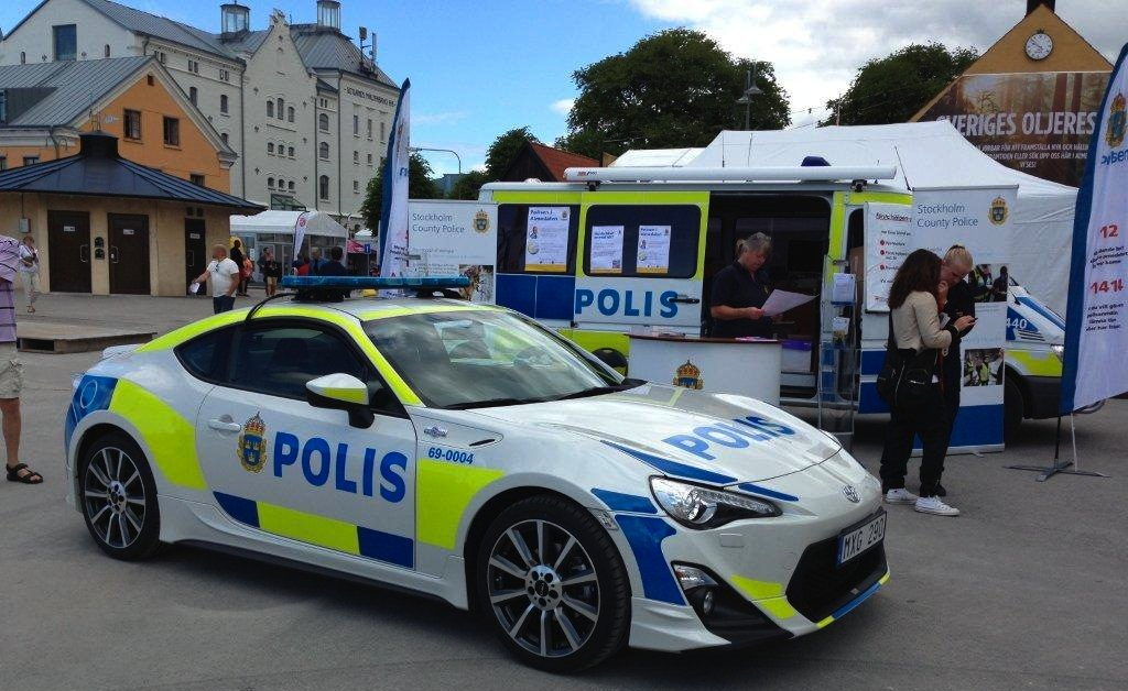 Toyota Showed A Gt86 Police Car To Inspire The Swedish