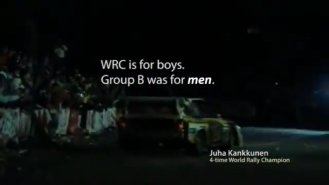 wrc is for boys group b was for men