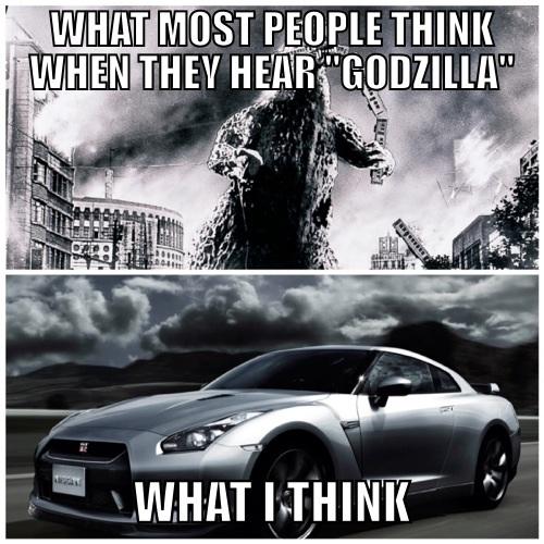Godzilla Gtr