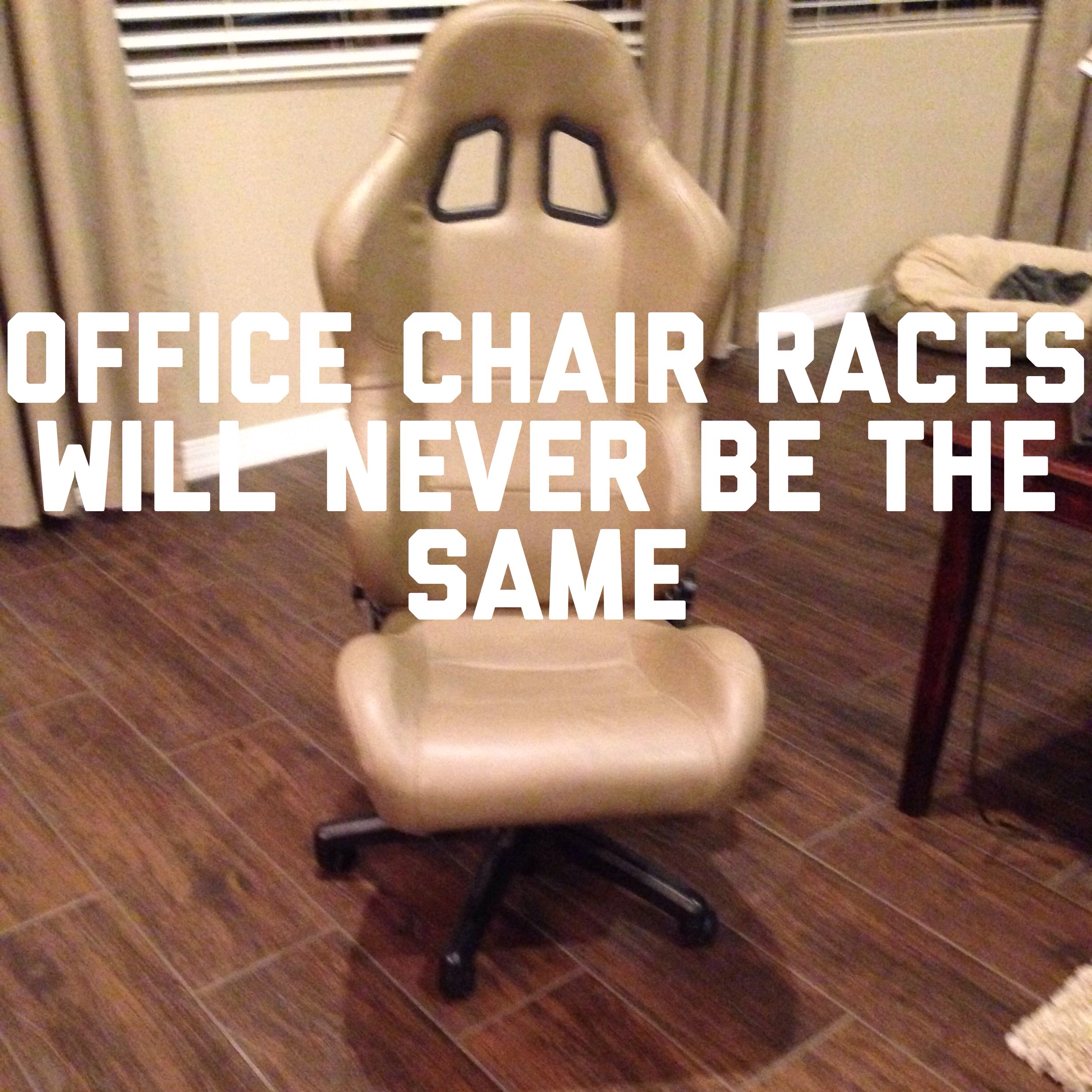 So I M Turning My Old Race Seat Into An Office Chair