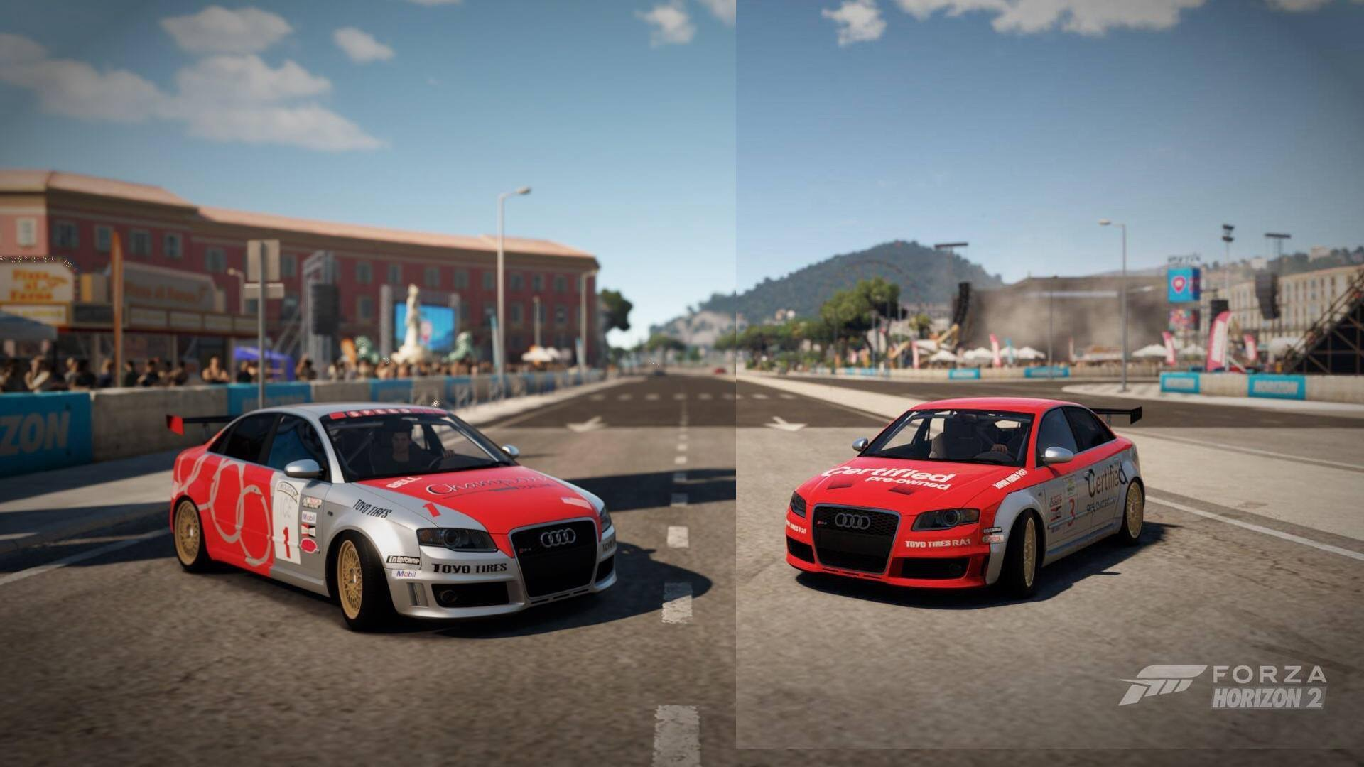 ... Audi RS4. On the right, (2002) Audi S4 #3 Certified Pre-Owned Champion