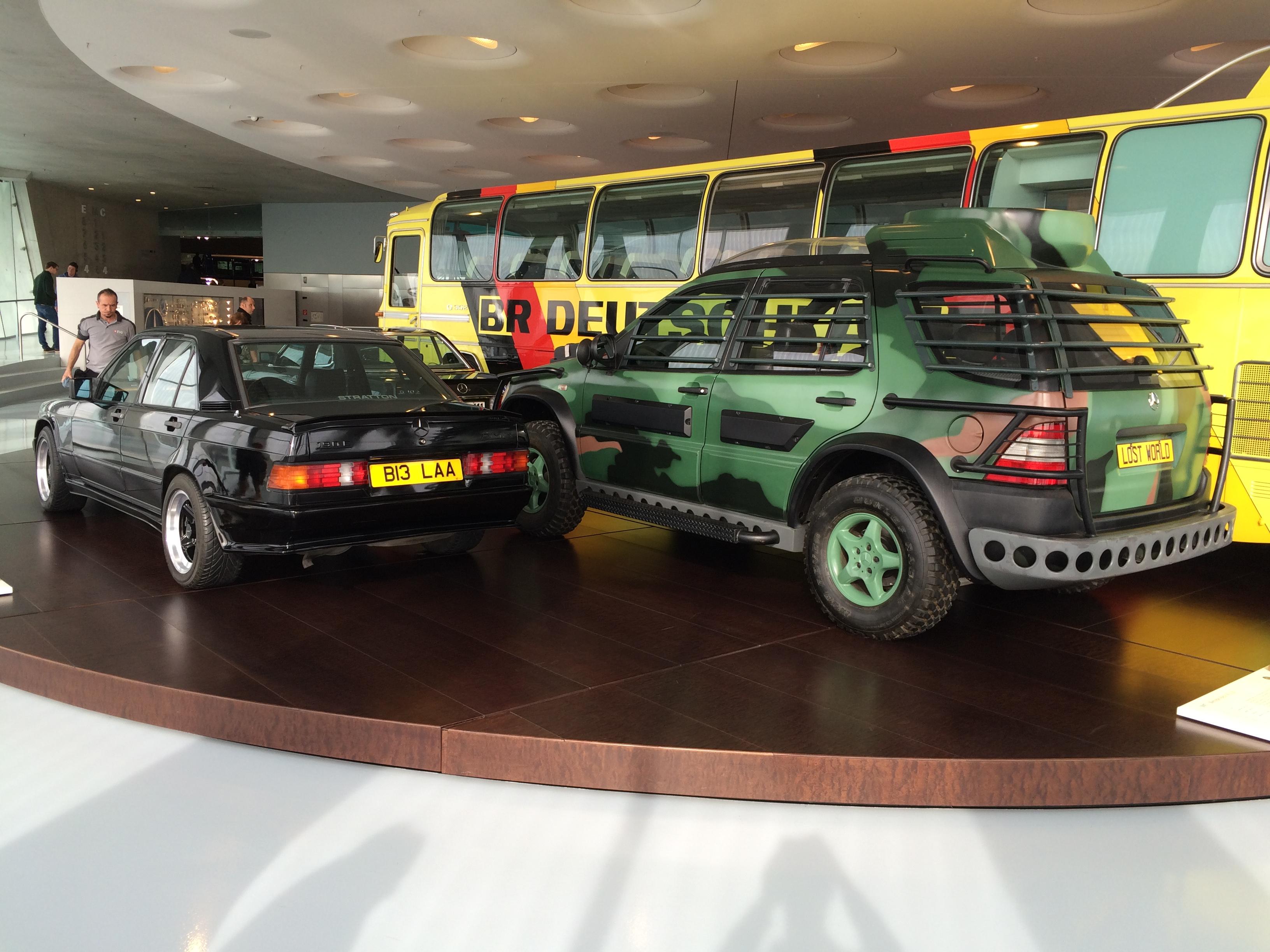 The Mercedes ML from Jurassic Park + Ringo Starr's 190 ...