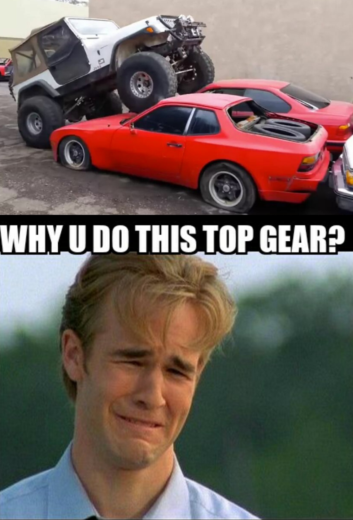 why u do this top gear