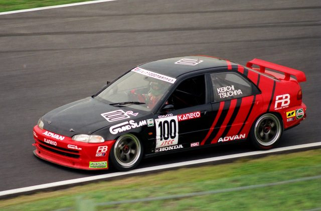 keiichi tsuchiya drove this bad boy in the 90 s at the jtcc now i