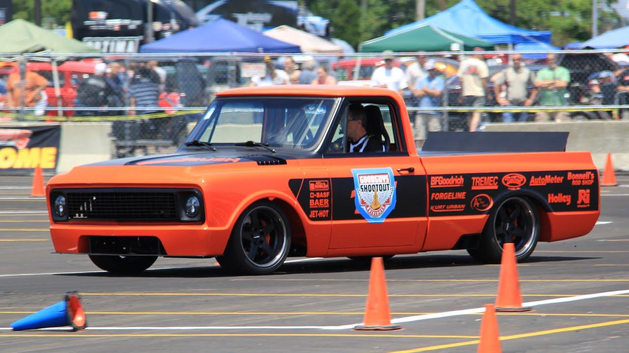 Beautiful Chevy C 10 Race Truck