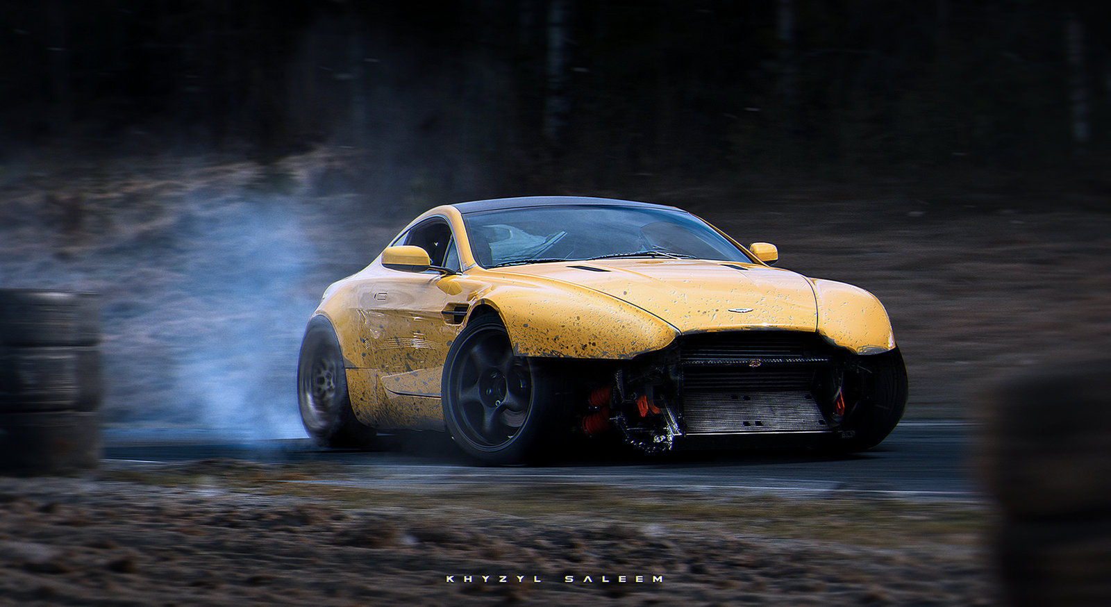 Lol V8 Vantage Drift Missile Rendering By Khyzyl Saleem