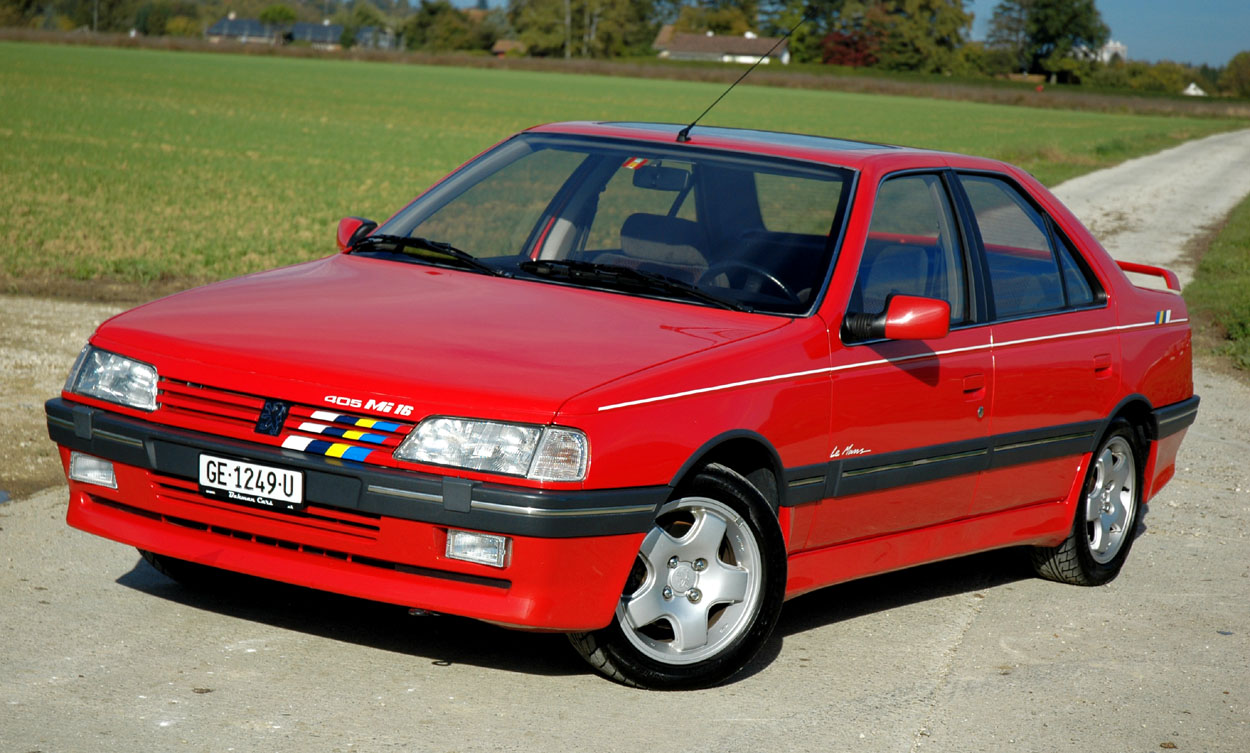 The Peugeot 405 Mi16 16 Valves 160hp And A 220kph Top