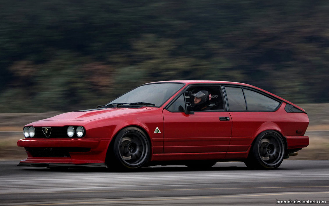 who else loves the alfa romeo gtv6