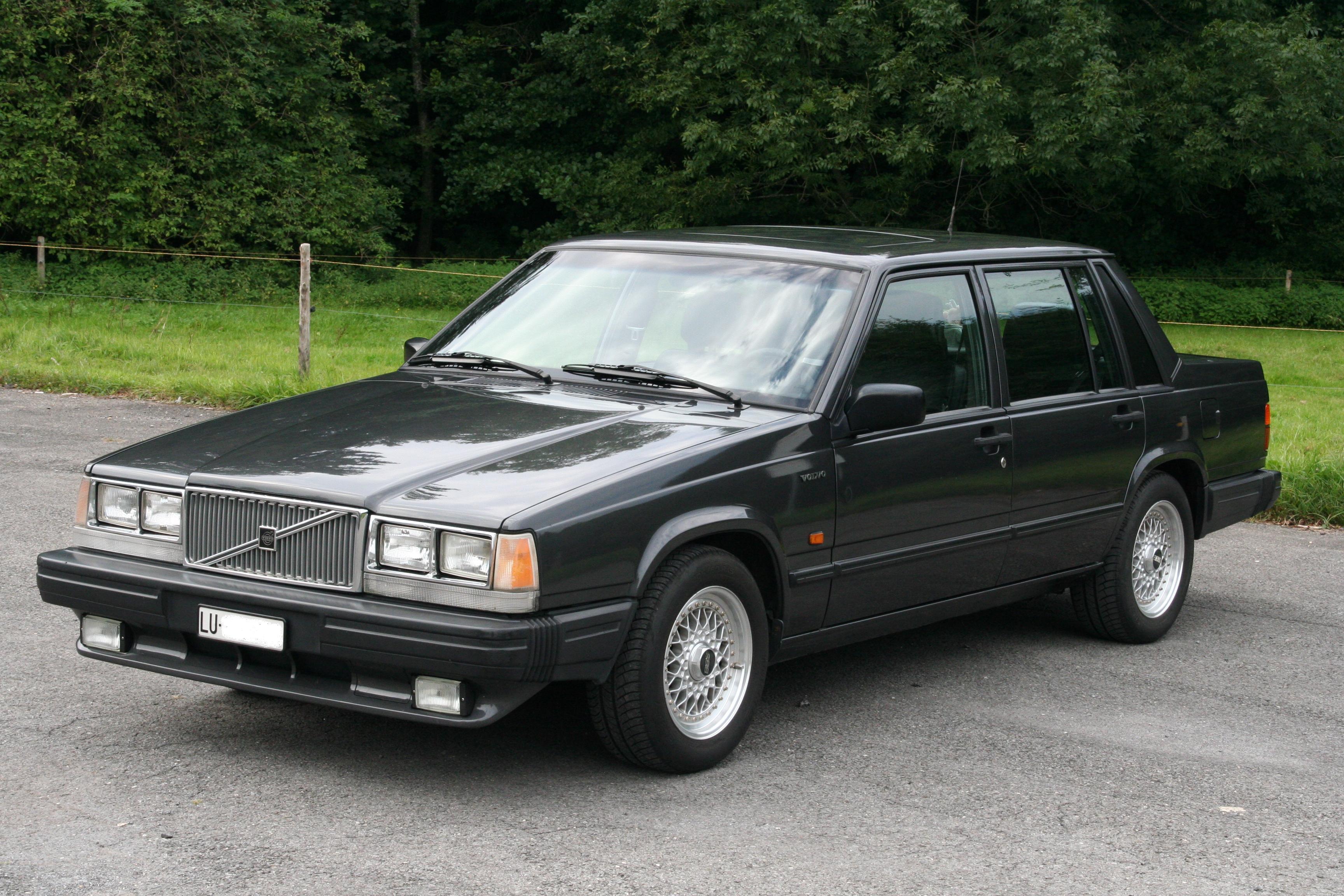 1989 Volvo 740 Glt Usa