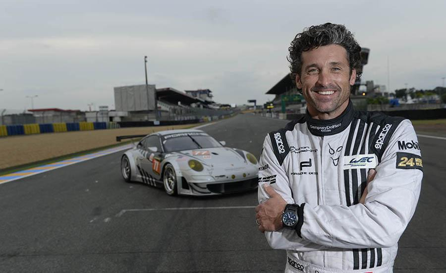 patrick dempsey 39 s tv character got killed off good now he can focus on racing. Black Bedroom Furniture Sets. Home Design Ideas