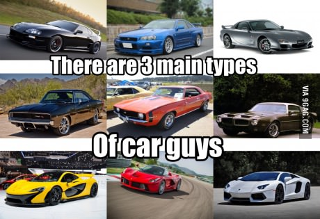 Prius Vs Bugatti >> Found this on 9GAG. Or you could like all three types of cars; Euro exoctics, American Muscle ...