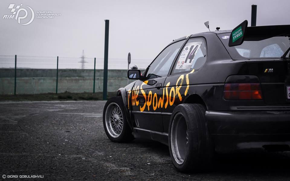 E36 Compact Drift Bmw E36 Compact v8 Drift Car