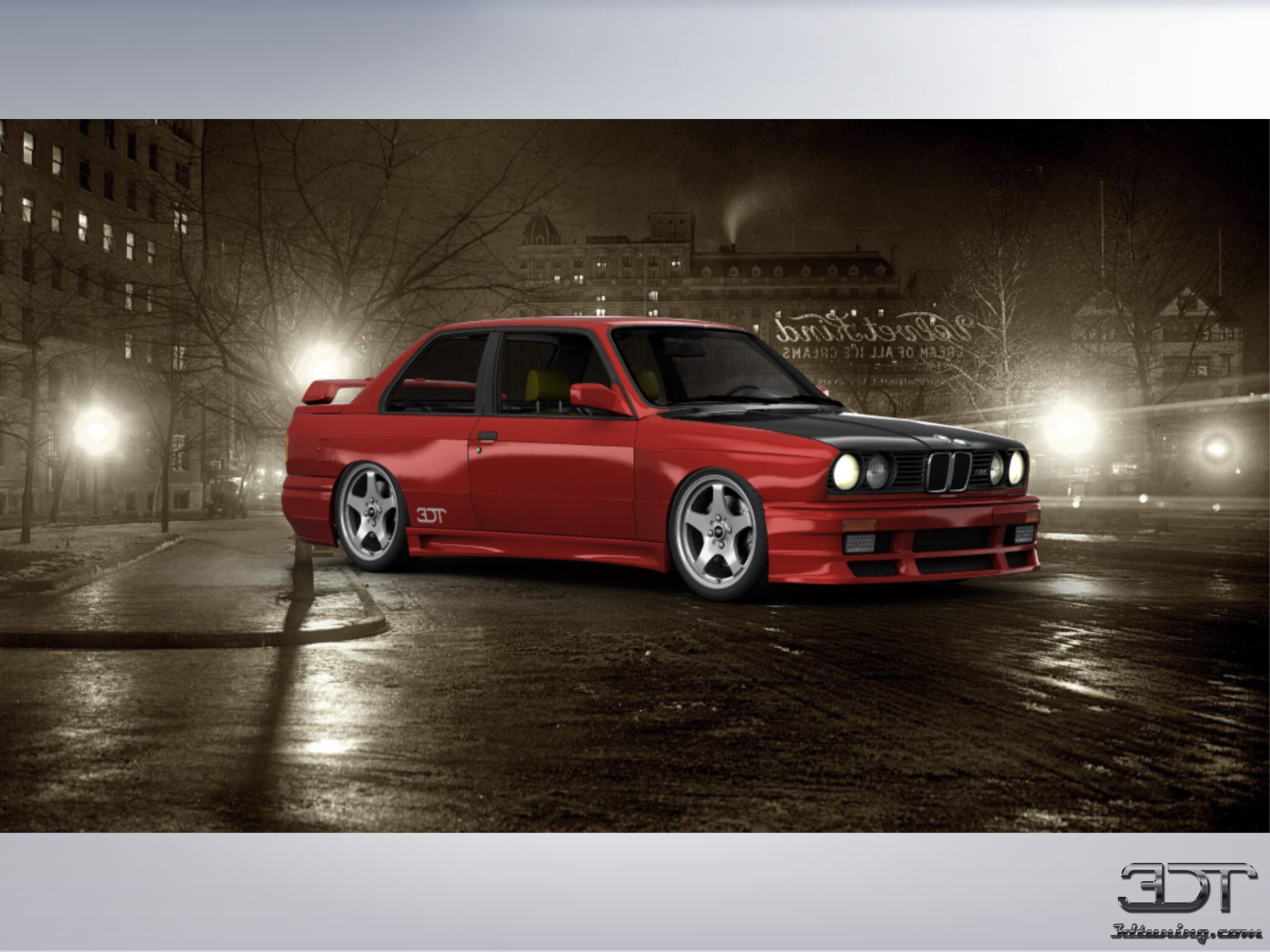 Anyone Like My E30 M3 Made In 3d Tuning