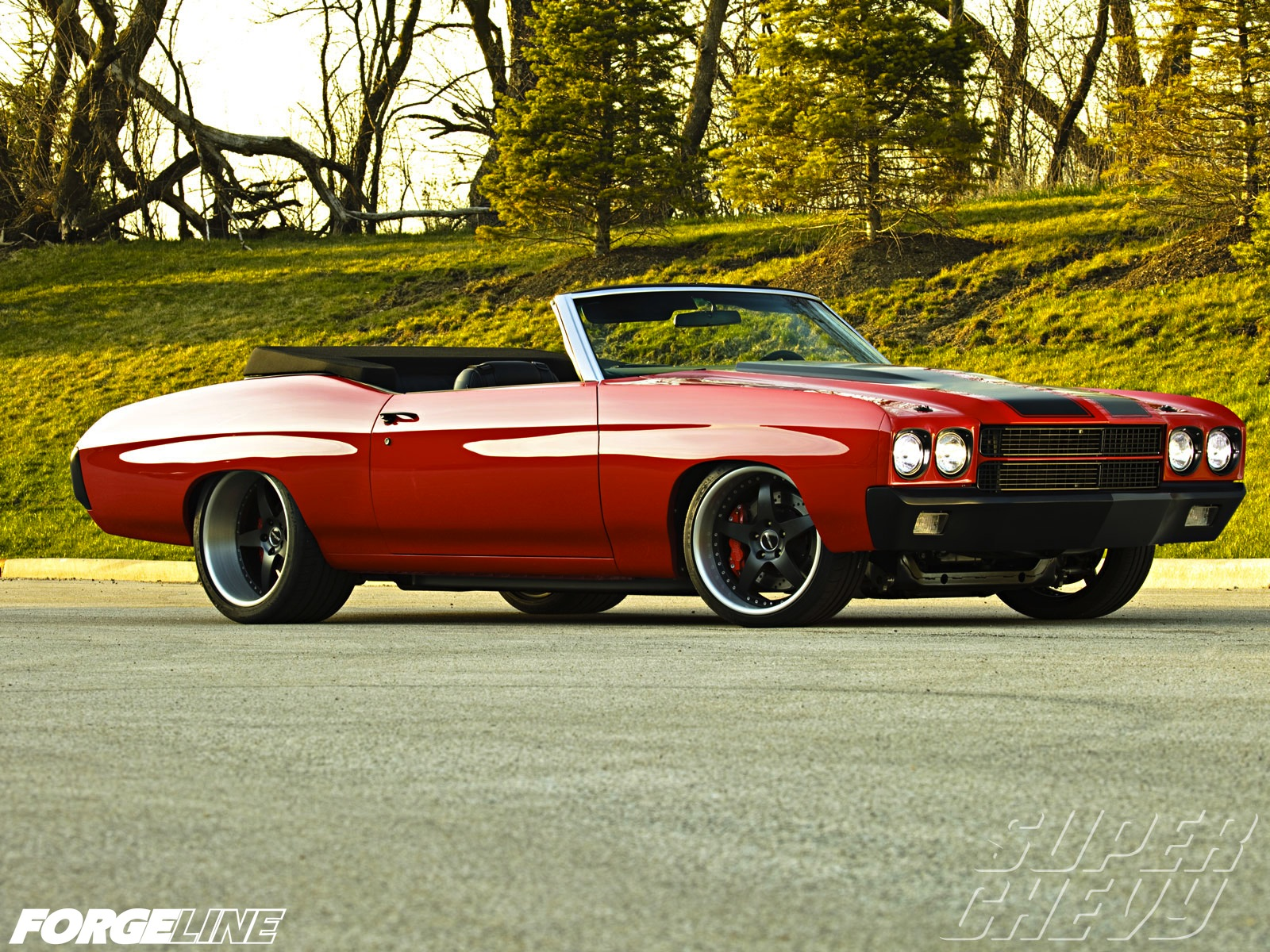 Nicely Modified Convertible Chevelle
