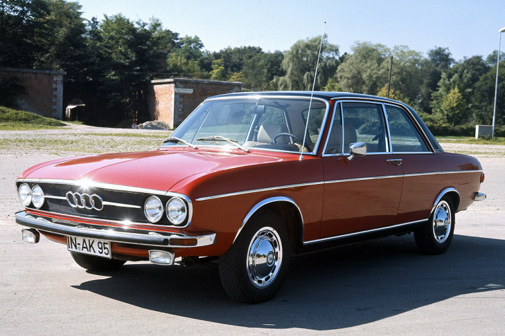 And Here Is An Audi 100 For The Same Amount Of Points