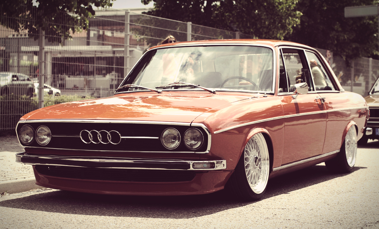 Here's an Audi 100 C1 because of my 100 CT points! - Euro