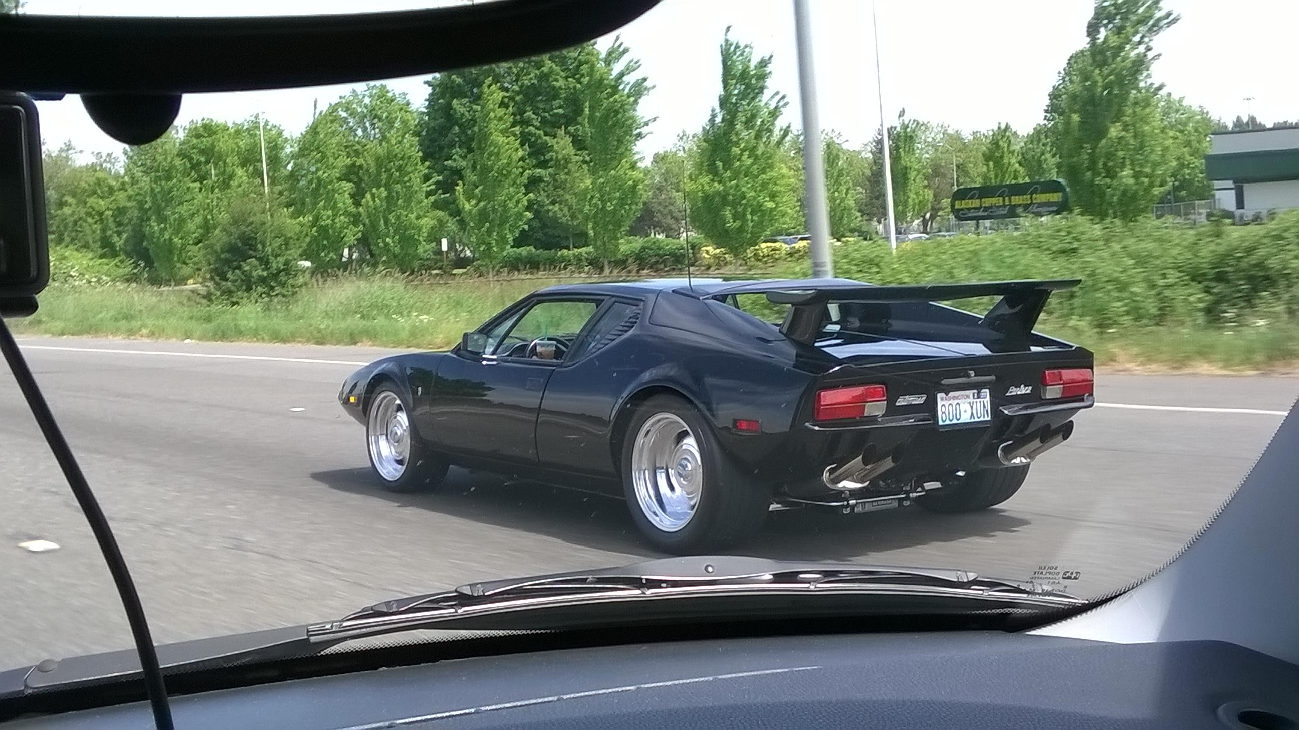 Cruising Along The Highway Looking Sexy De Tomaso Pantera Gt5s