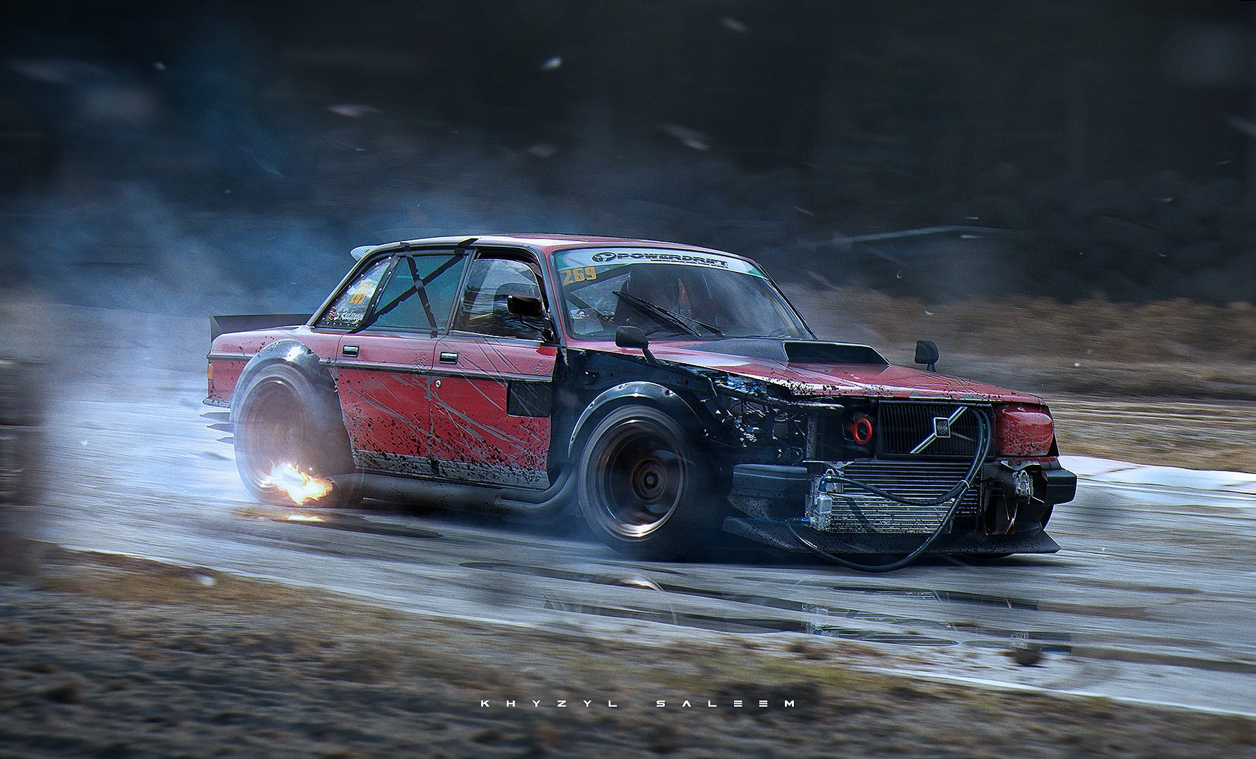 How About This Drift Missile