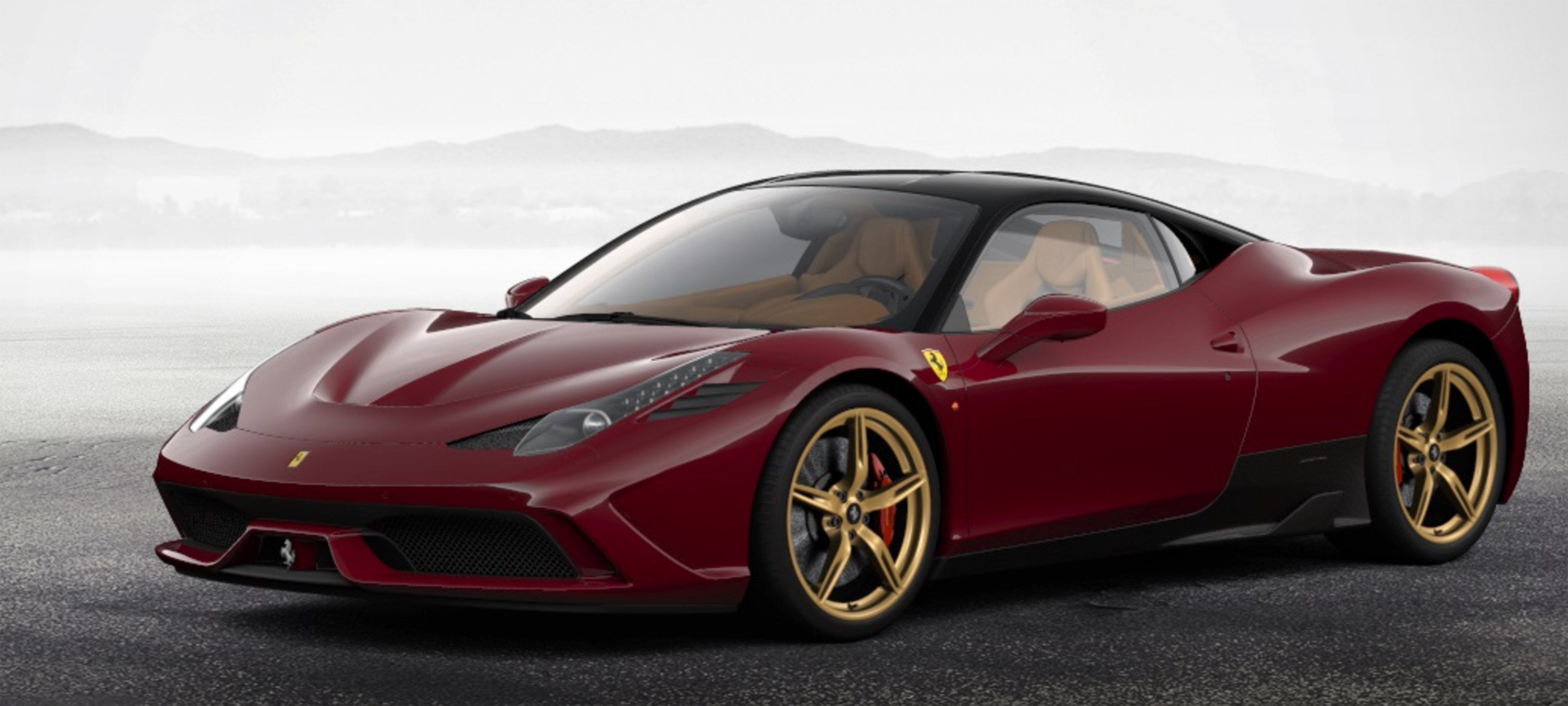 This Is How I Want My 458 Speciale Rosso Mugello With