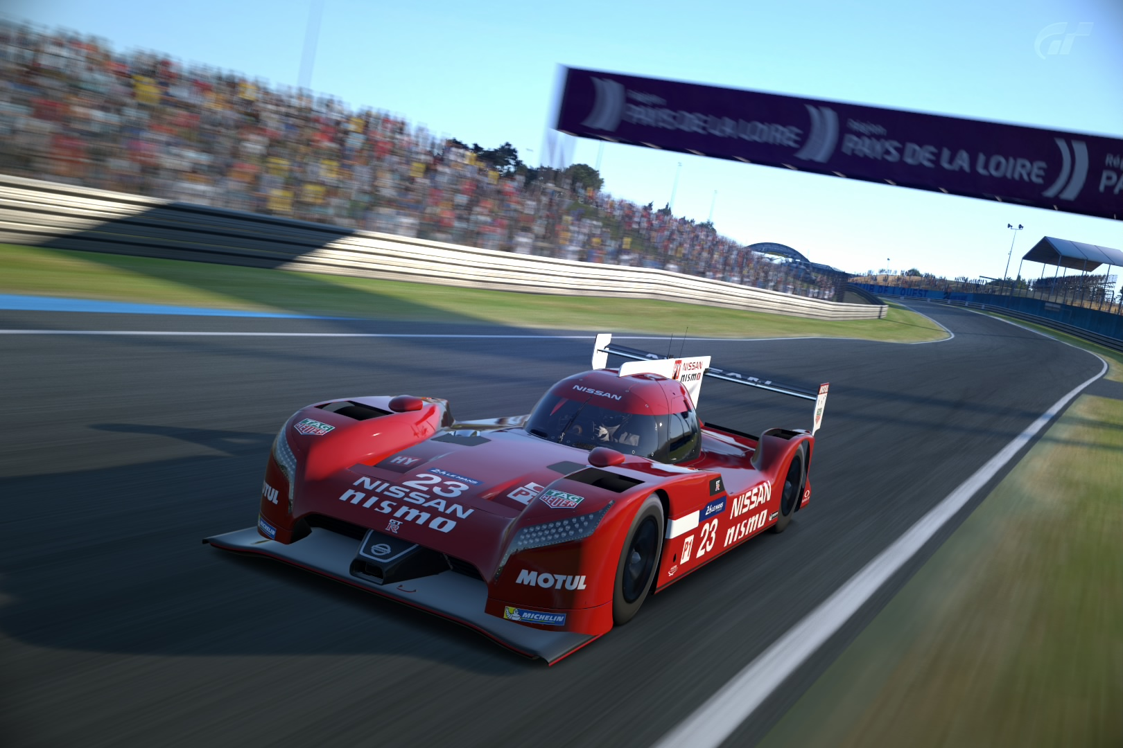 The Nissan Lmp1 In Gran Turismo 6 Waiting For Wec Cars In