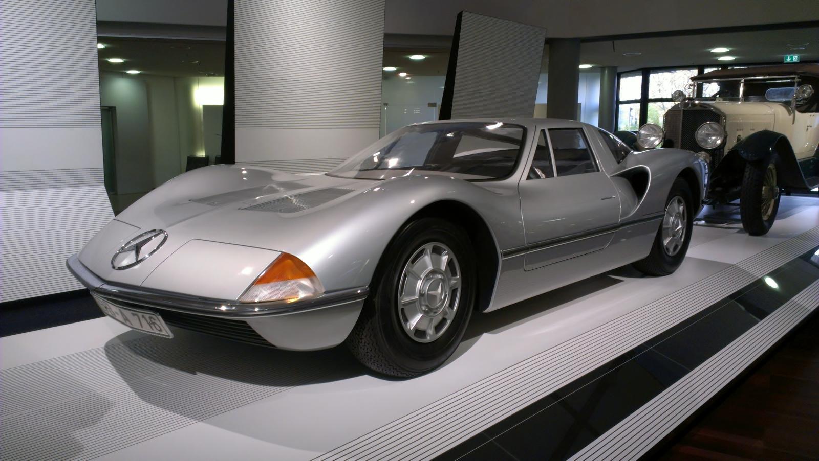 Mercedes-Benz C111 Design Concept Bruno Sacco Designstudie