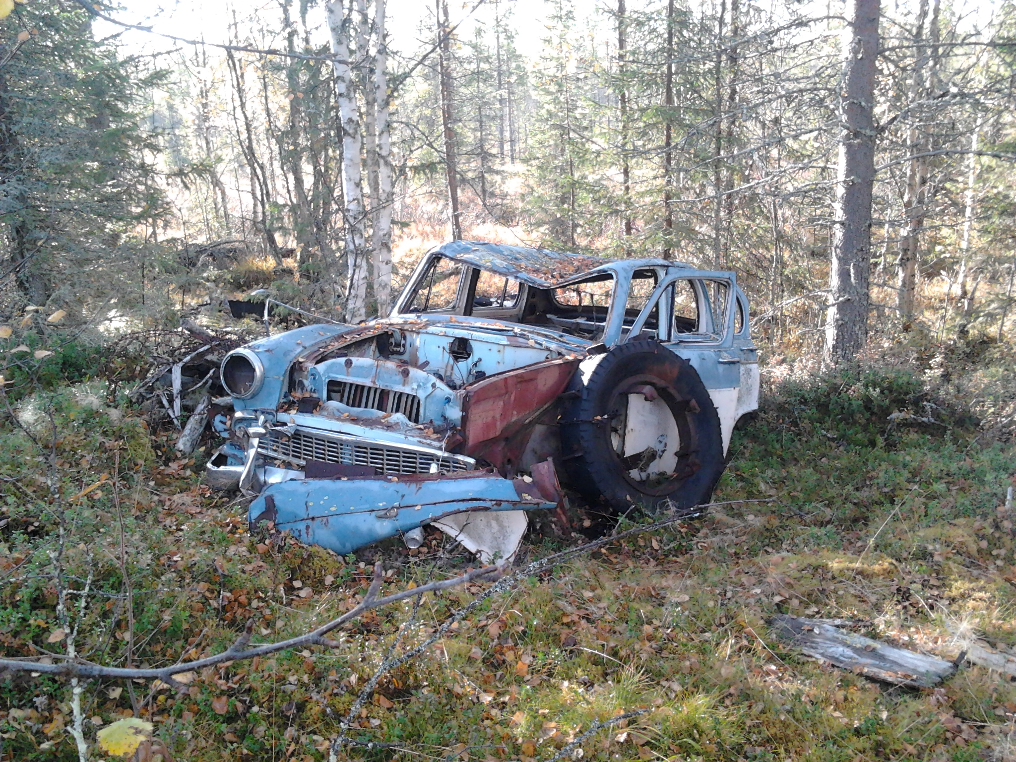 1961 Moskvitsh 407 Wagon This Is The Very First Forest