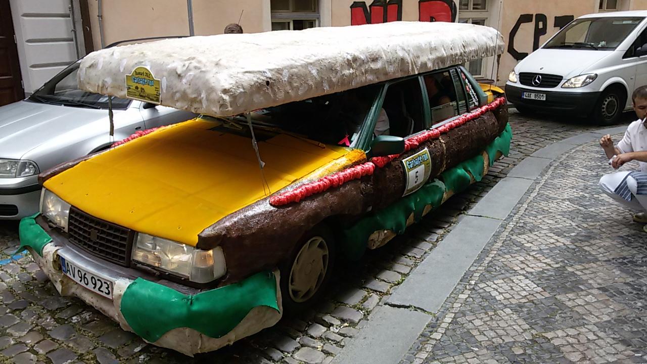 Garbage Run Volvo Seen In Prague Yesterday