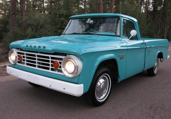 Something you don't see everyday, 65 Dodge D100 #MuscleMatters
