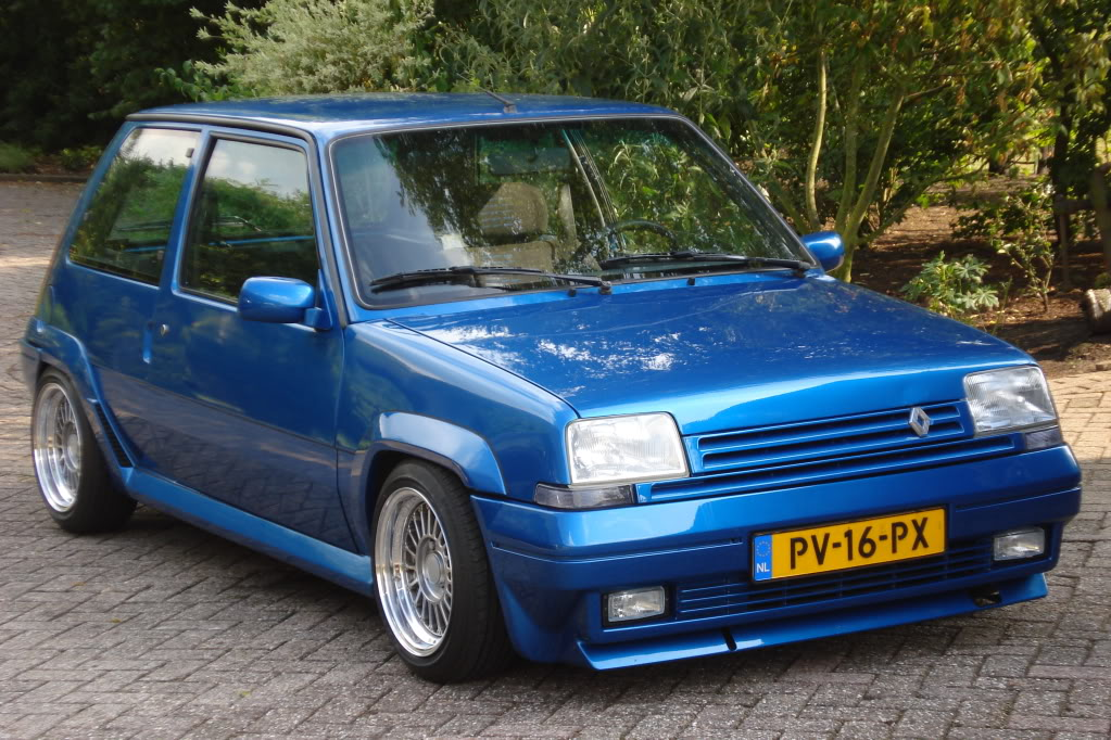 Renault R5 Gt Turbo One Fun Little Car