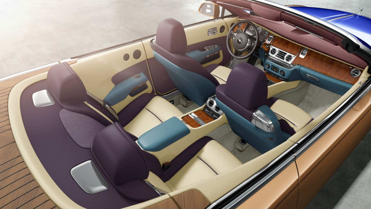 Best Rolls Royce Dawn Interior