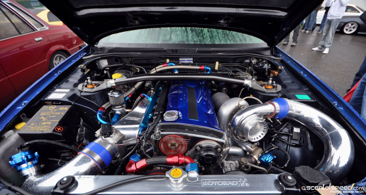 Nissan Skyline R34 Nismo Z-Tune engine porn