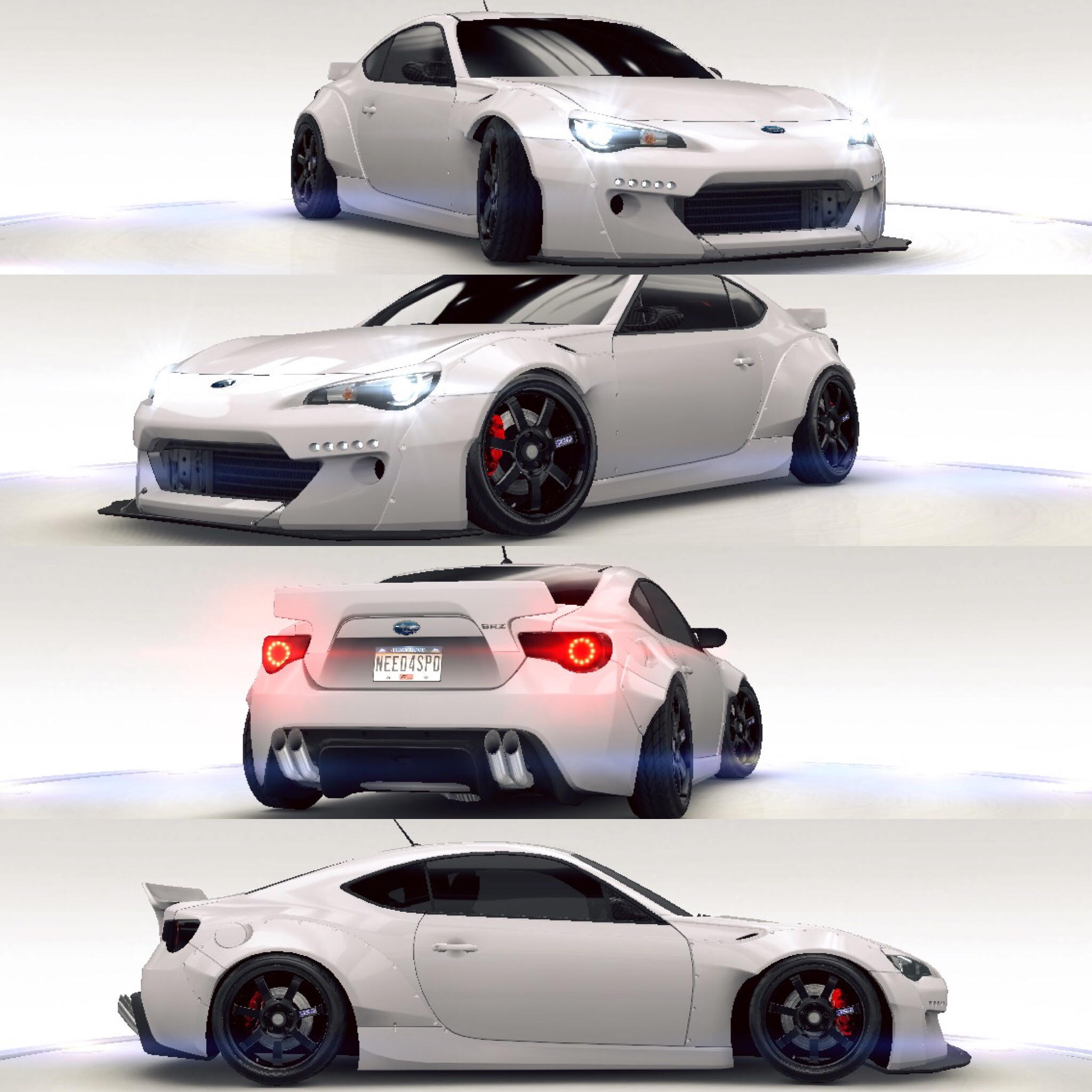 This Is My Rocket Bunny Subaru Brz On Need For Speed No