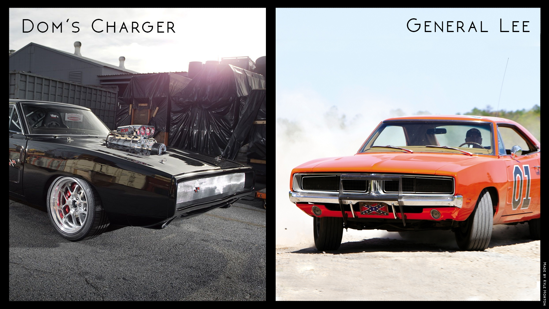 Whichcarwednesday Week 7 Dom S Charger Vs General Lee