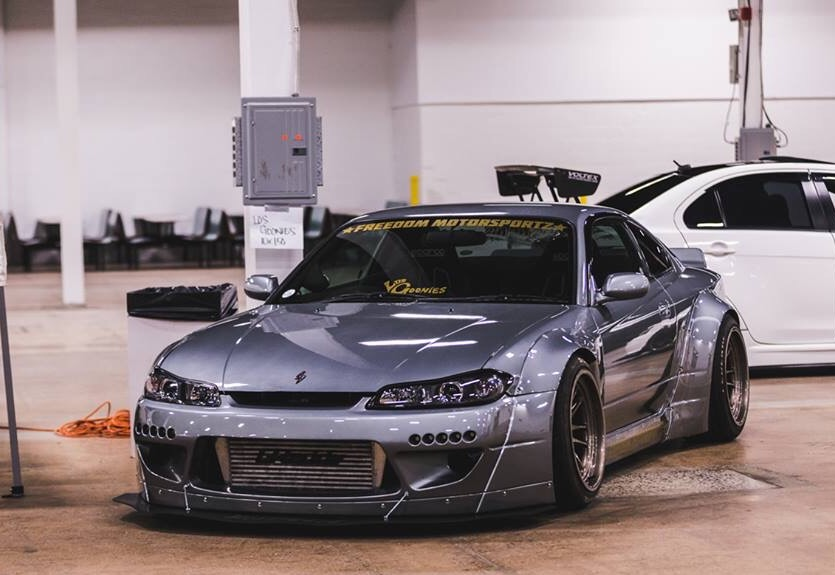 am i the only one who thinks that the s15 rocket bunny kit