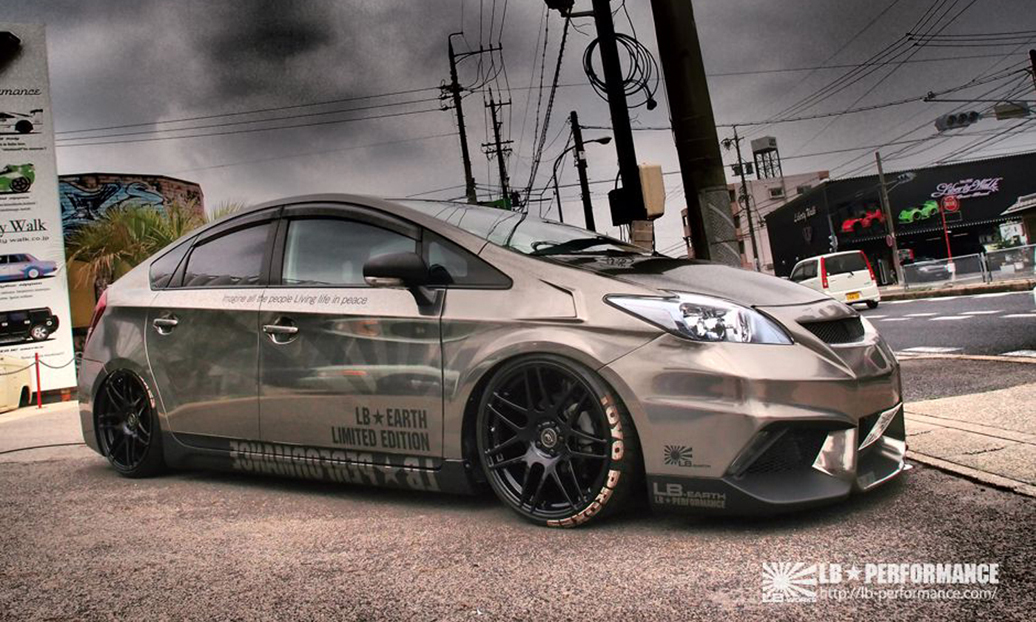 There Actually Is Liberty Walk Prius