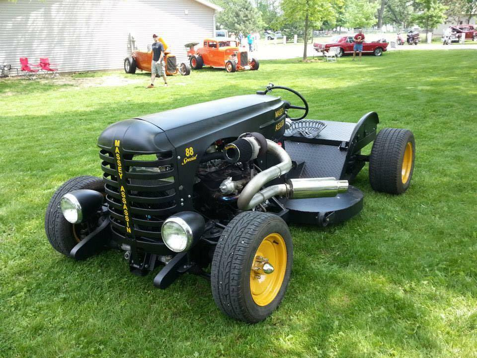 600hp Lawn Mower And You Tought You Saw It All