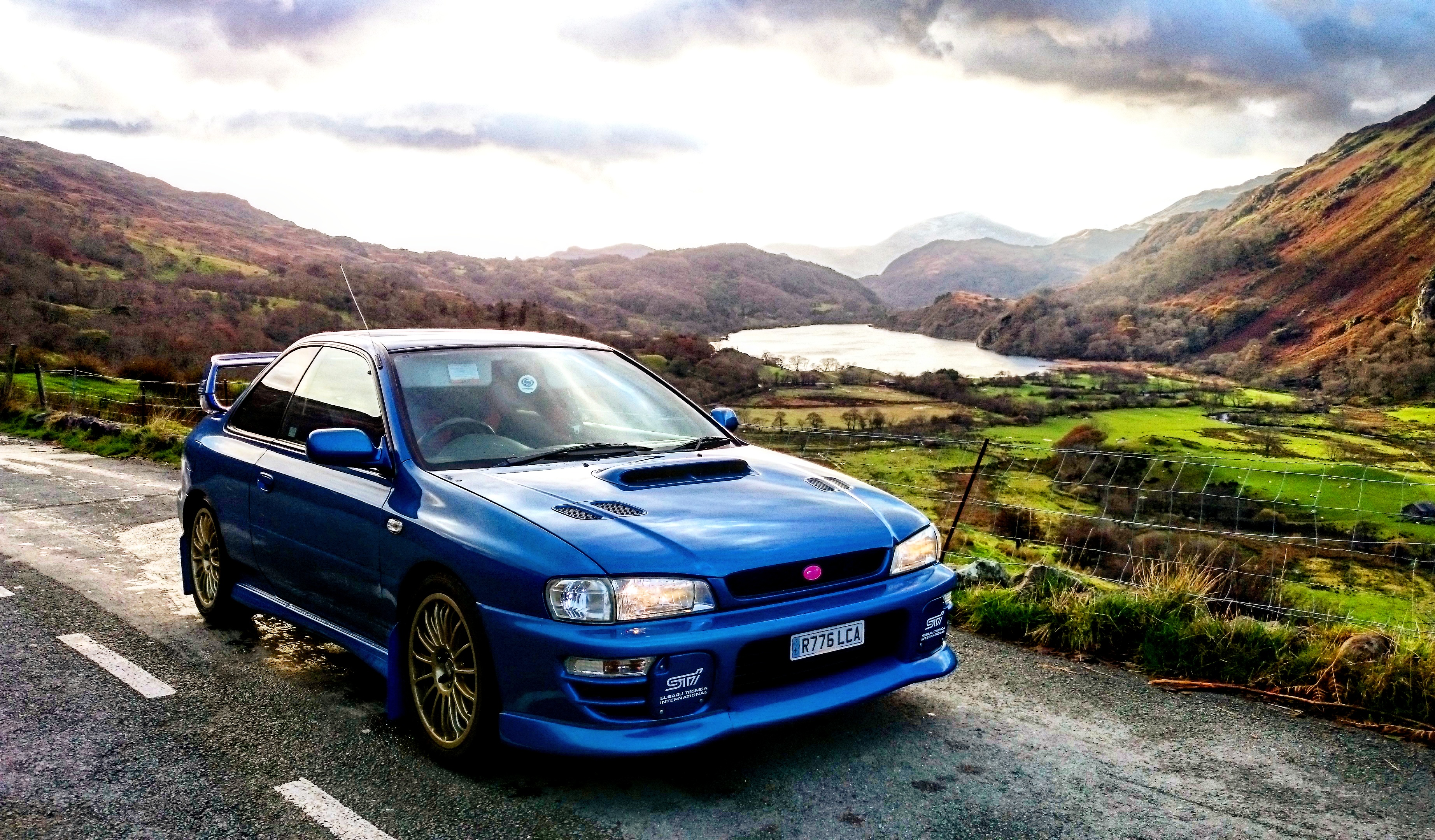 1998 Subaru Impreza Type R Version 4 V Limited