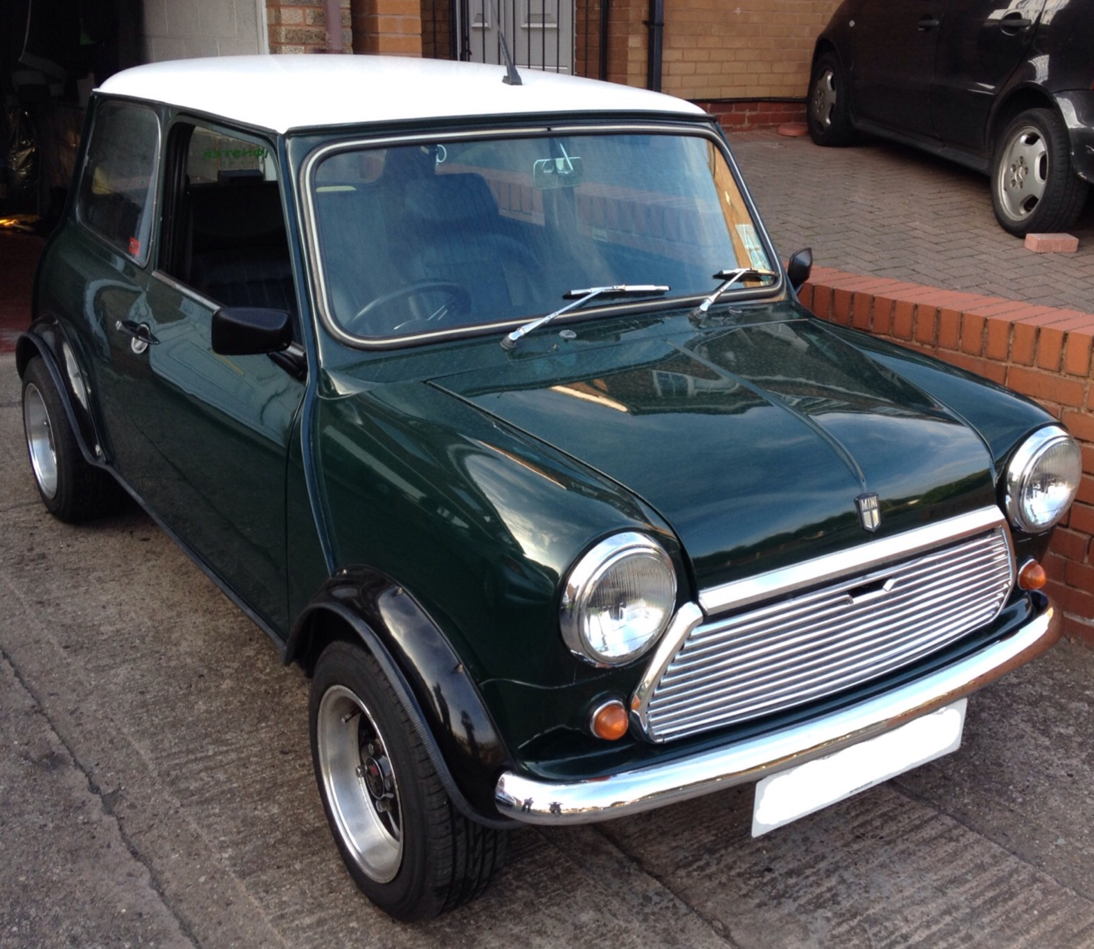 1984 austin mini mayfair for Garage austin mini