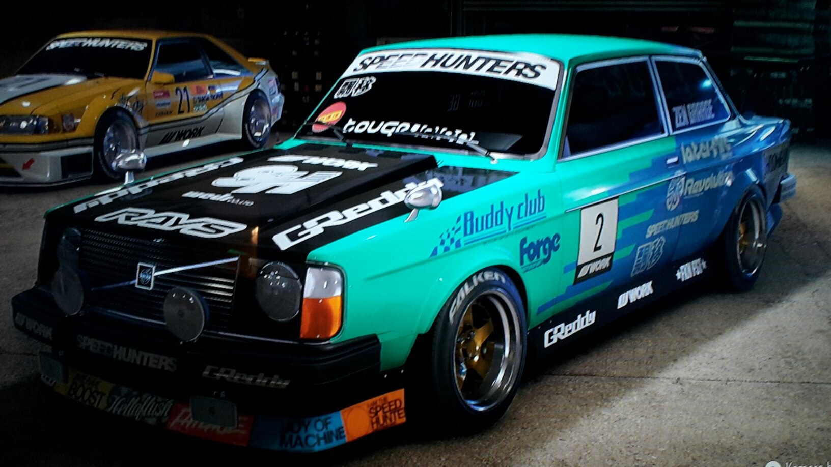 Need For Speed 2015 Volvo 242 Falken Drift Car Japan Style
