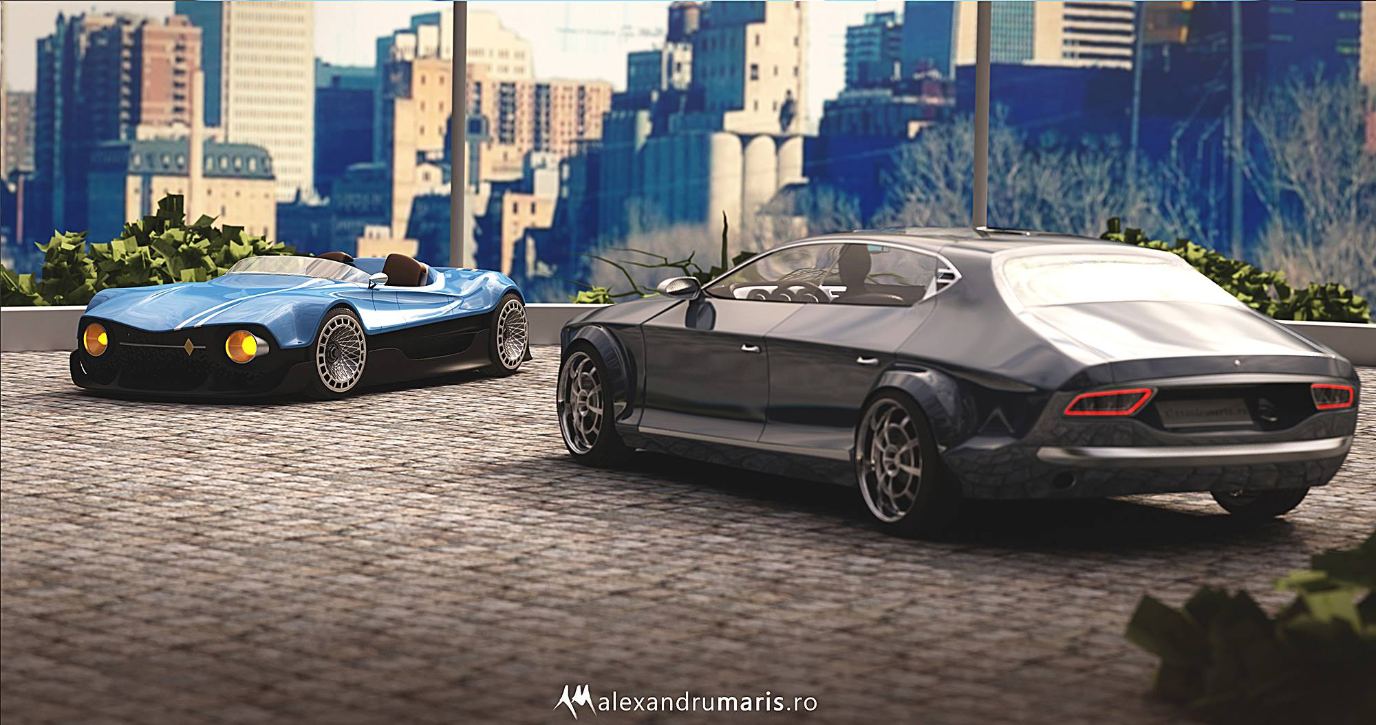 Two Dacia Concepts The 1300 Coupe Based On The 70 S Dacia