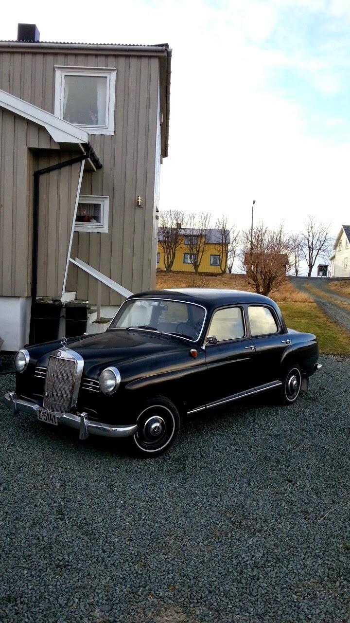 1956 mercedes benz ponton 180 for Mercedes benz ponton