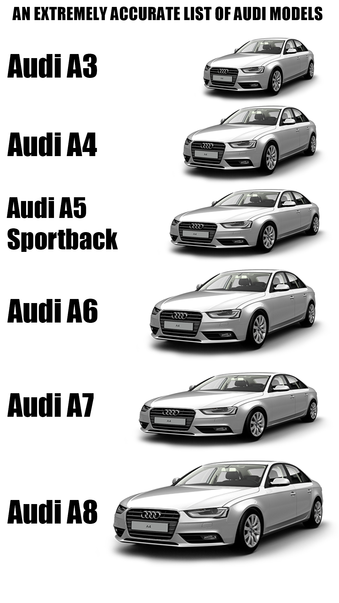 My Favourite Audi A4 Is The Audi A7