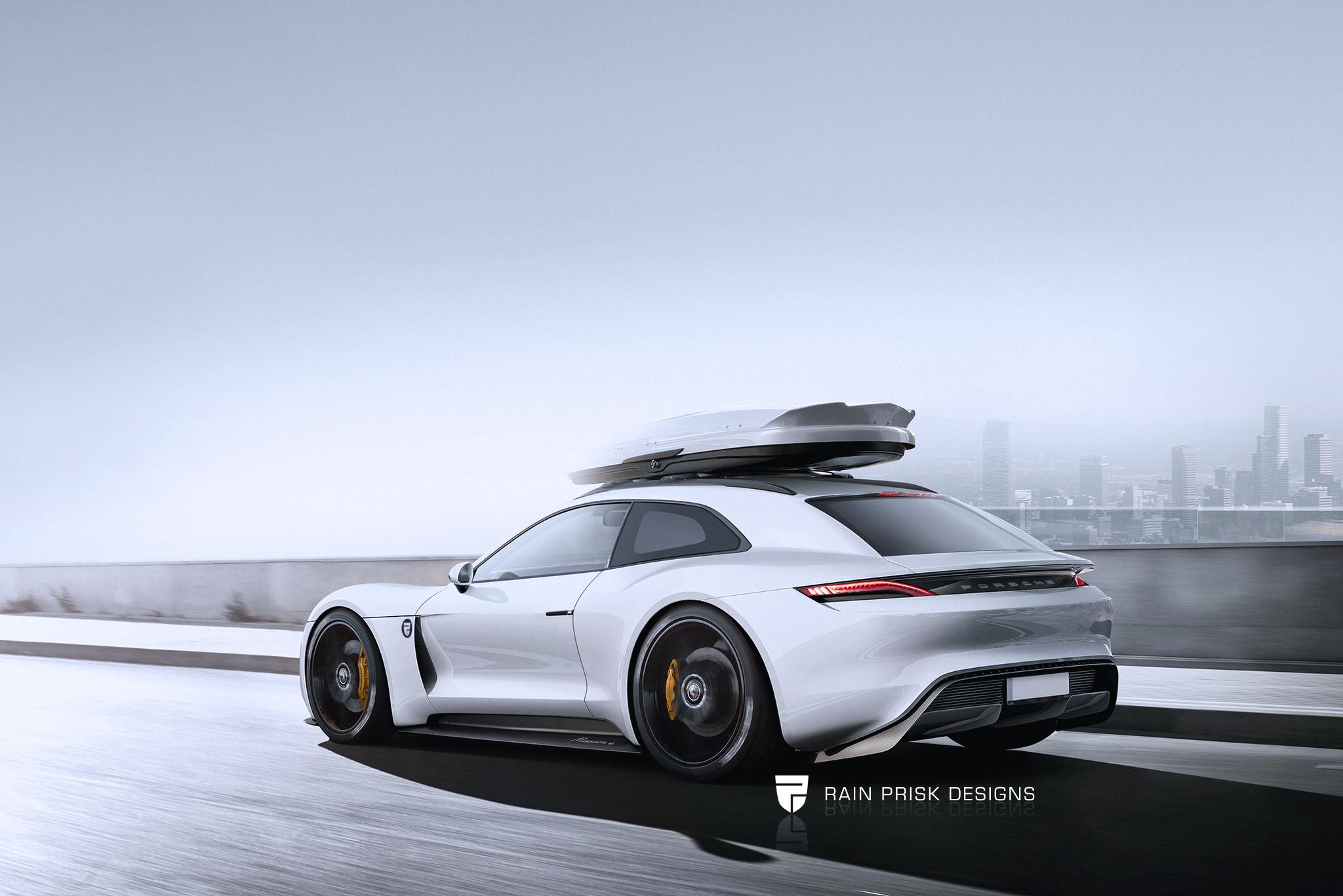 Porsche Mission E Shooting Brake